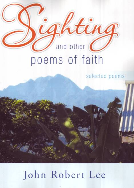 Sighting and other poems of faith - cover