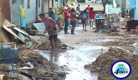 Freak storm devastates saint lucia dominica and st vincent on image credit hts news 4orce sciox Images