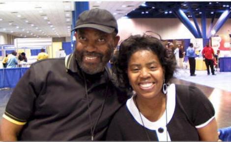 Gwen Richardson and husband, Willie - photo credit Marcia Wilson