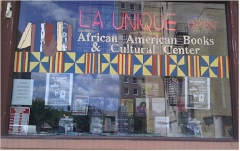 La Unique African American Books & Cultural Ctr, Camden, NJ – Opened in 1992 - photo credit AALBC